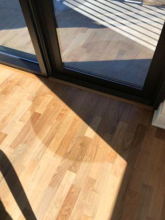 UV Rays can cause your hardwood floors to fade. House window tint can help illuminate this problem.